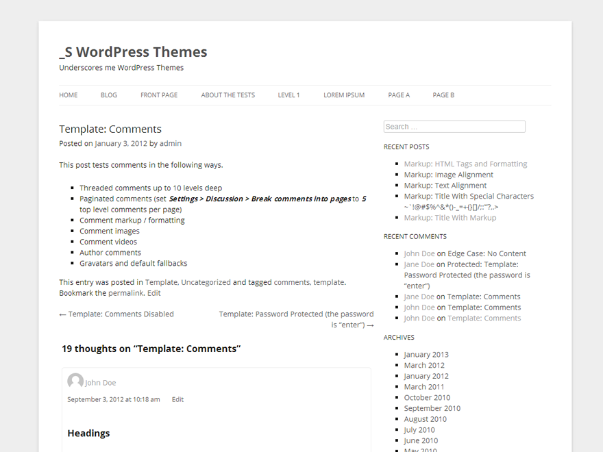 Style 59 WordPress Theme