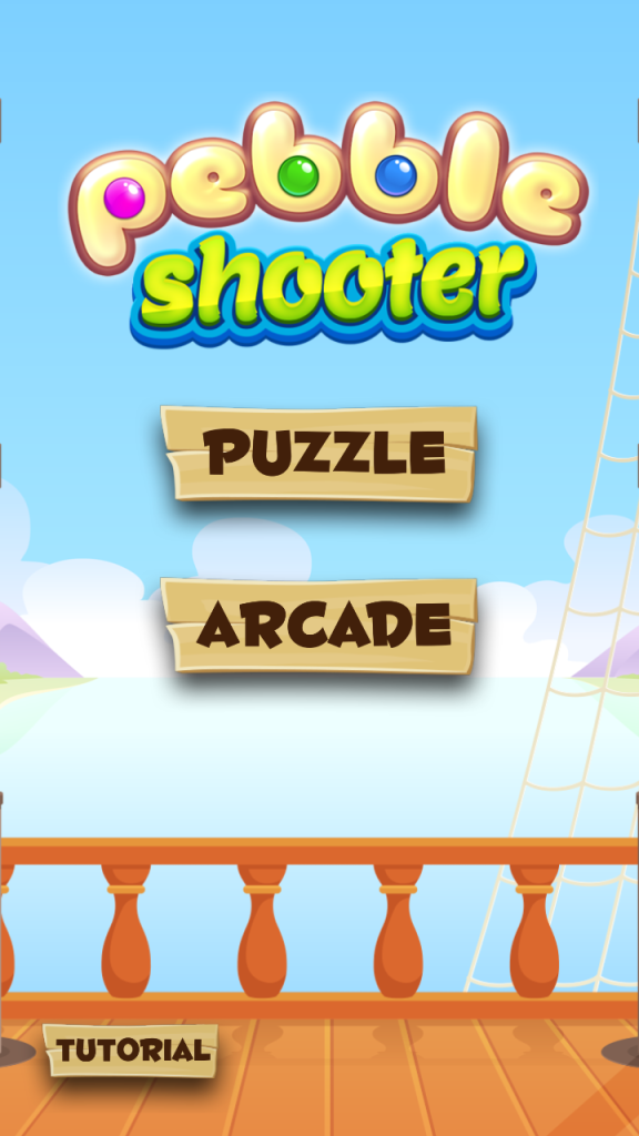 Pebble Shooter Level Selection